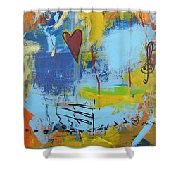 Heart 3 Shower Curtain