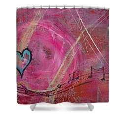 Heart 4 Shower Curtain