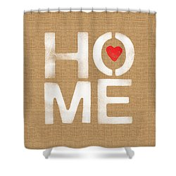 Heart And Home Shower Curtain