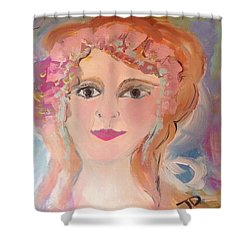 Heart And Soul  Shower Curtain by Judith Desrosiers