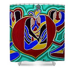 Heart Of The Ages Shower Curtain by Barbara St Jean