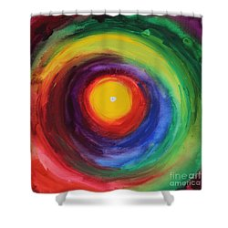 Heart Opening Shower Curtain