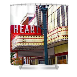 Heart Theatre Effingham Illinois  Shower Curtain