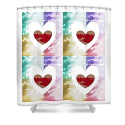 Heartful Shower Curtain