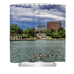 Heartland Of America Park Shower Curtain
