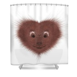 Hearty Beast 1 Shower Curtain