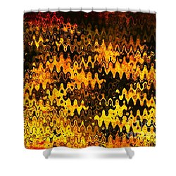 Shower Curtain featuring the photograph Heat by Anita Lewis
