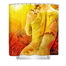 Heat Shower Curtain by Mo T