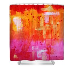 Heat Shower Curtain