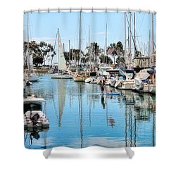 Heat Relief  Shower Curtain by Tammy Espino