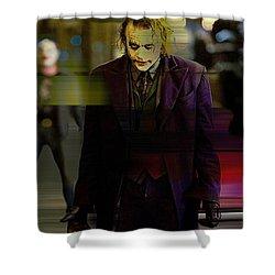 Heath Ledger Shower Curtain