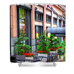 Heathman Restaurant 17368 Shower Curtain