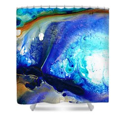 Heaven And Earth Shower Curtain by Sharon Cummings
