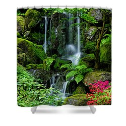 Heavenly Falls Serenity Shower Curtain