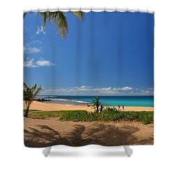 Heavenly Haena Beach Shower Curtain