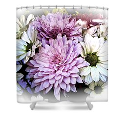Heavenly Hosts Shower Curtain