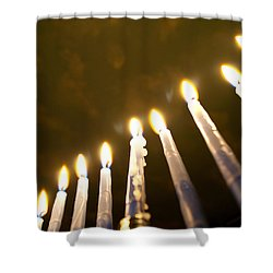 Heavenly Lights Shower Curtain