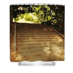 Heavenly Stairway Shower Curtain by Madeline Ellis