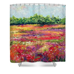 Heaven's Breath Shower Curtain by Meaghan Troup