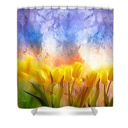 Heaven's Garden Shower Curtain