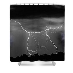 Heavens Gates Happy Easter Shower Curtain by James BO  Insogna