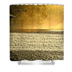 Heaven's Rays Shower Curtain