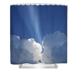 Heaven's Spotlight Shower Curtain