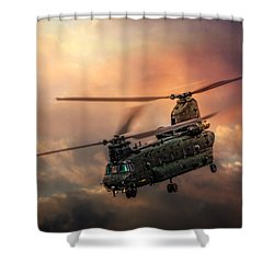 Heavy Metal Shower Curtain