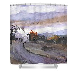Hebo Farmhouse Shower Curtain by Chriss Pagani