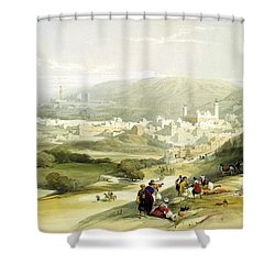 Hebron Shower Curtain