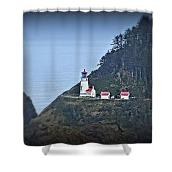 Heceta Head Light House Shower Curtain