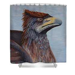 Griffon Shower Curtain