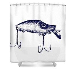 Heddon River Runt  Shower Curtain by Scott Pellegrin
