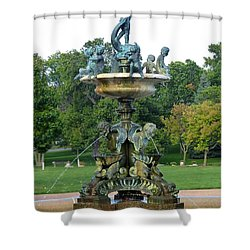 Heffelfinger Fountain Shower Curtain