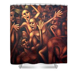 Hell The Alternative Shower Curtain by Anthony Falbo