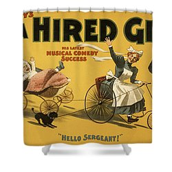 Hello Sergeant Shower Curtain by Aged Pixel
