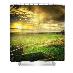 Hello Sunshine :) Shower Curtain