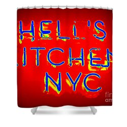 Hell's Kitchen Nyc Shower Curtain