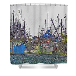 Helltown Shower Curtain