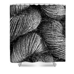 Hemp Curls Shower Curtain