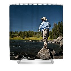 Henry's Fork Shower Curtain