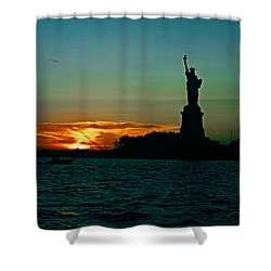 Her Majesty Shower Curtain