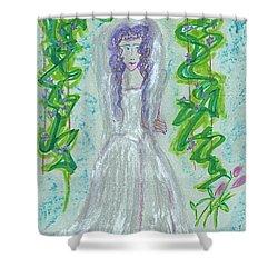 Hera Juno Shower Curtain by First Star Art