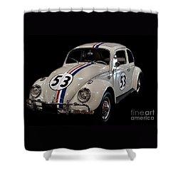 Herbie Shower Curtain