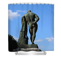 Hercules  Shower Curtain by HEVi FineArt