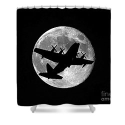 Hercules Moon Shower Curtain