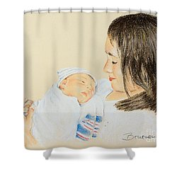 Here I Am Sister Shower Curtain