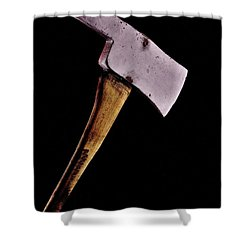 Here's Johnny Shower Curtain by Benjamin Yeager
