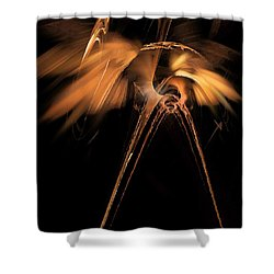 Heron - Marucii Shower Curtain