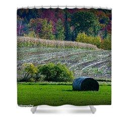 Hay Fall Shower Curtain